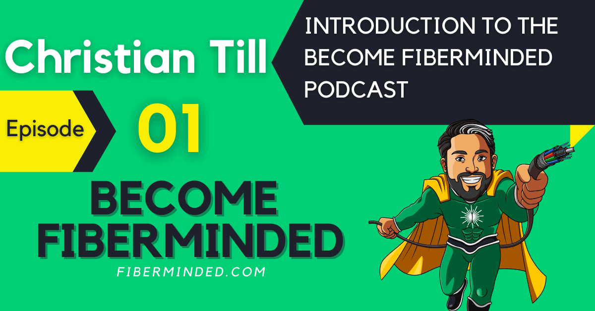 Podcast Episode 1 of Become Fiberminded